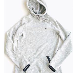Nike Gray Hooded Sweatshirt | SZ M